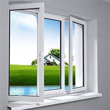 Casement door and window aluminum frame parts profile business