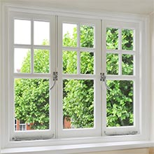 Australia standard double glazing aluminium frame casement window