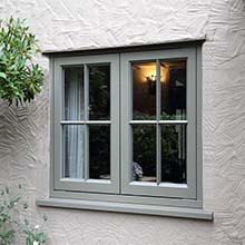 Aluminium Vertical Casement Window Design Double Glazing Aluminum Windows and Doors