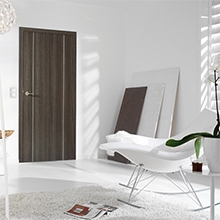 Luxury 2017 New Design Interior PVC coated MDF Wooden Doors for rooms